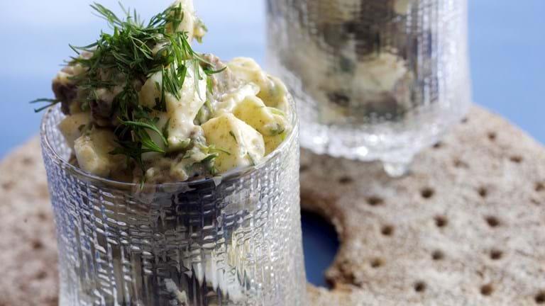 Brød- og æggesalat