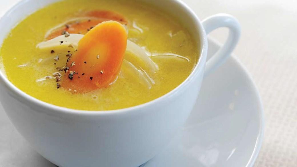 En kop suppe