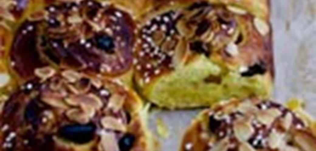 Bradepande med safranboller