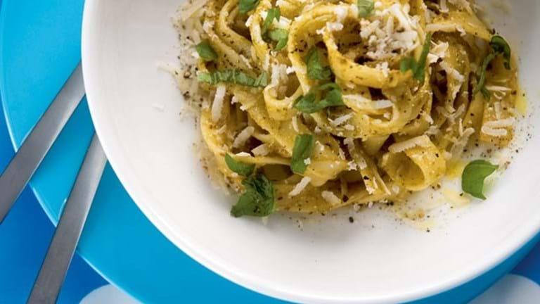 Pasta med Pesto