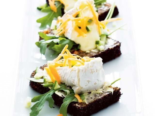 Brie med grønt