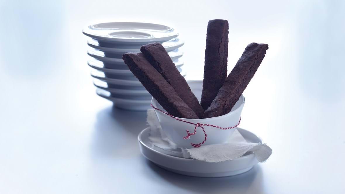Chokoladesnitter med kardemomme