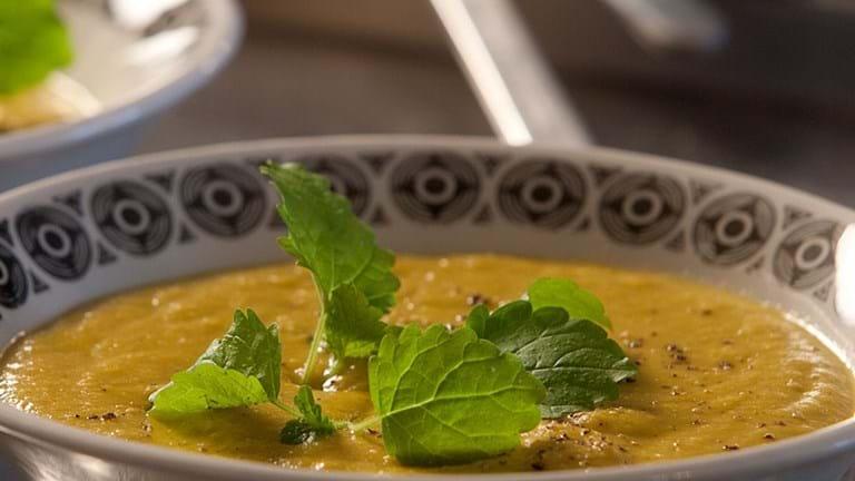 Krydret linsesuppe