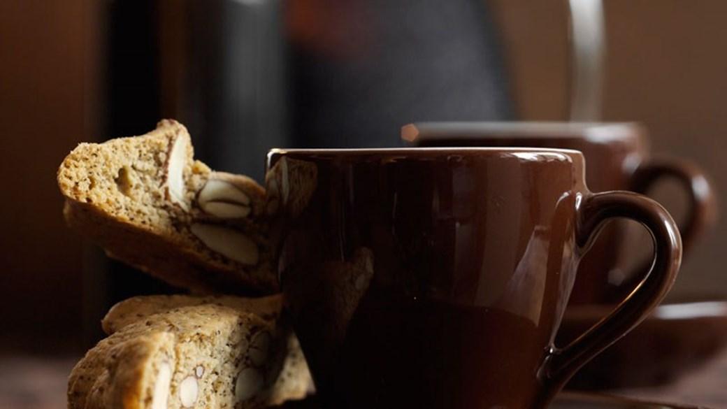 Biscotti med kaffe og kardemomme
