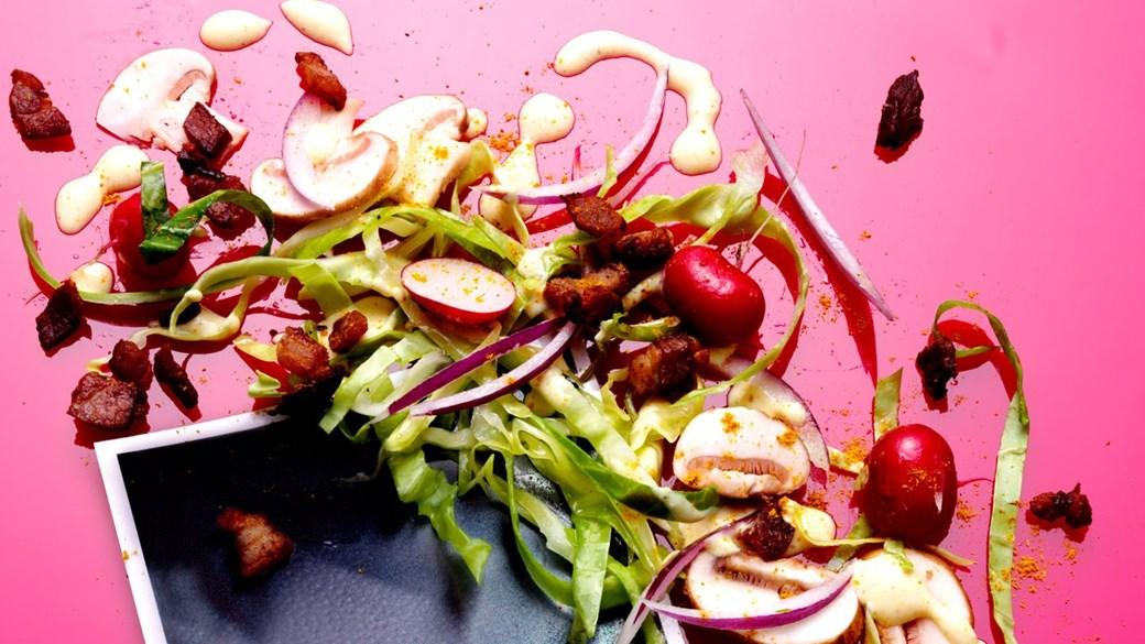 Frisk coleslaw med karry