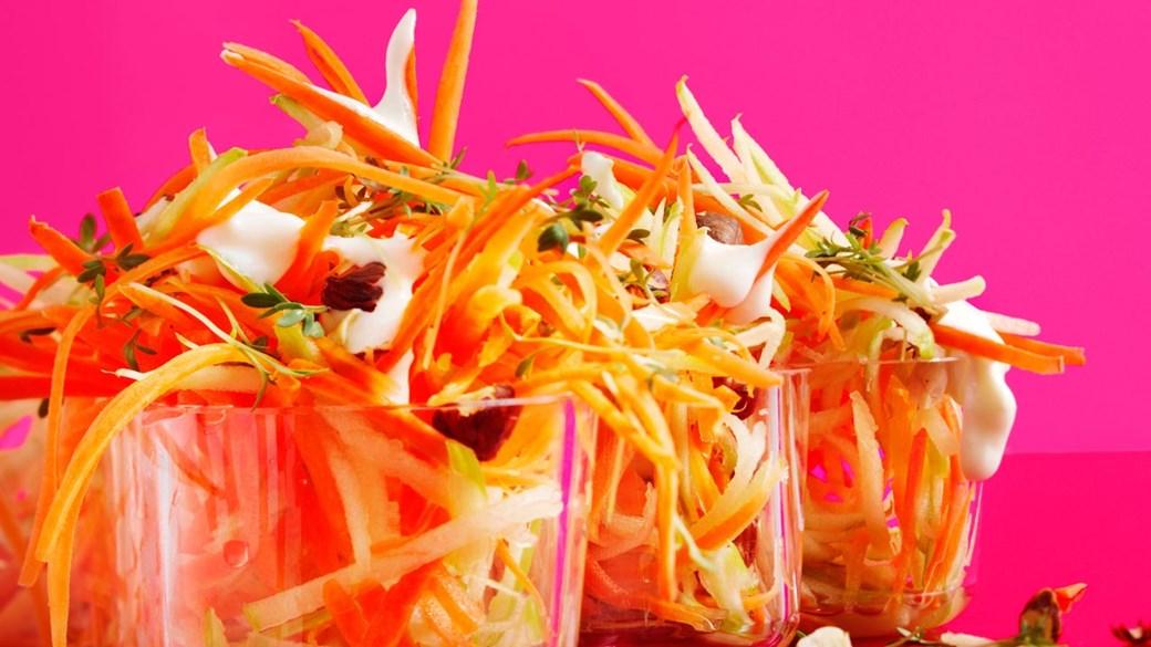 Nordisk rygeostrumba-salat