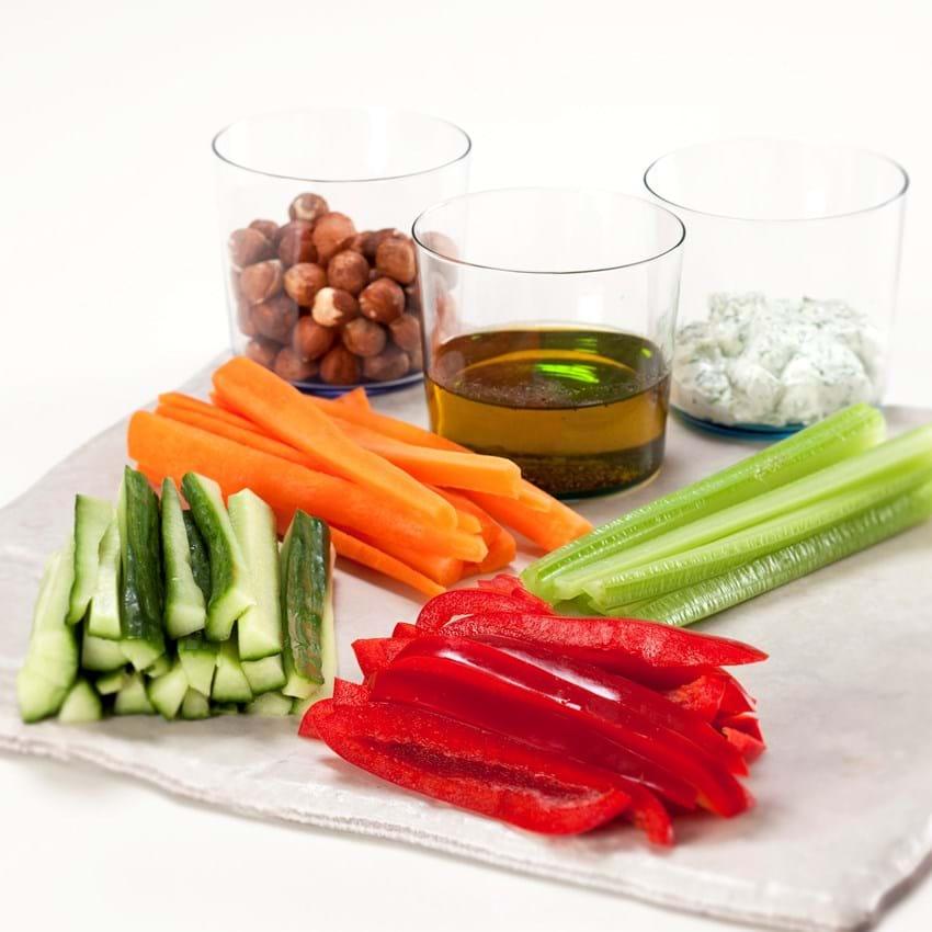 Grøn appetizer
