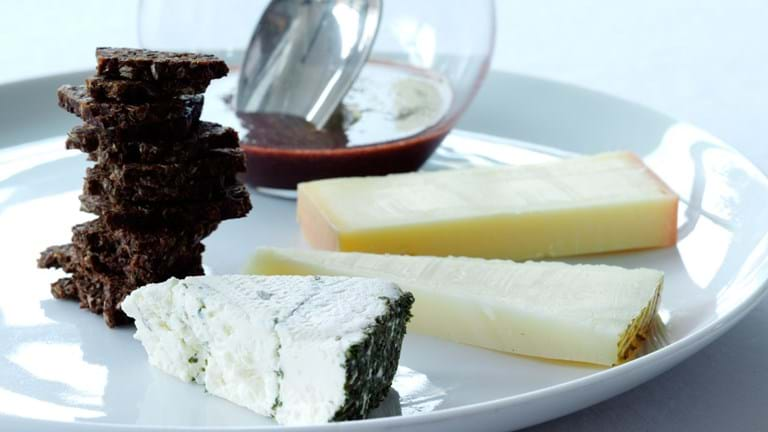 3 slags oste