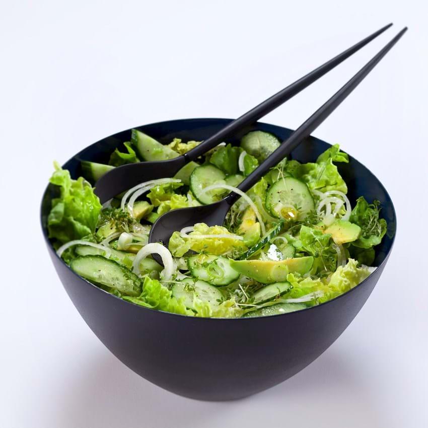 Salat Med Agurk Og Avocado Grøn Og Sund Se Opskriften Her
