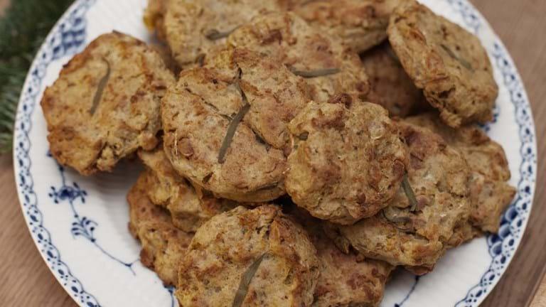 Kartoffelkroketter med hasselnødder og rosmarin