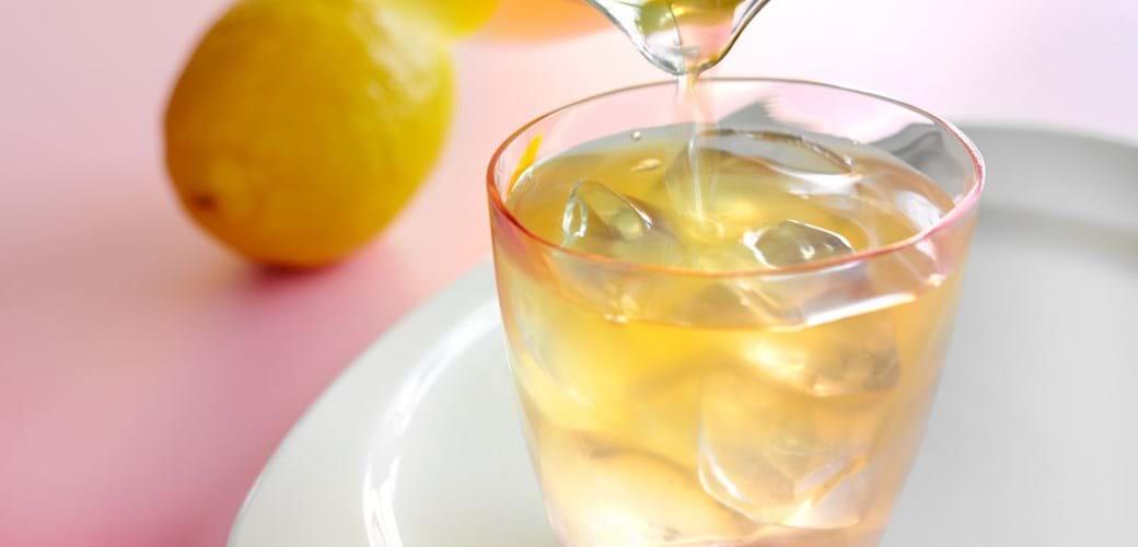 Citron- og honninglemonade