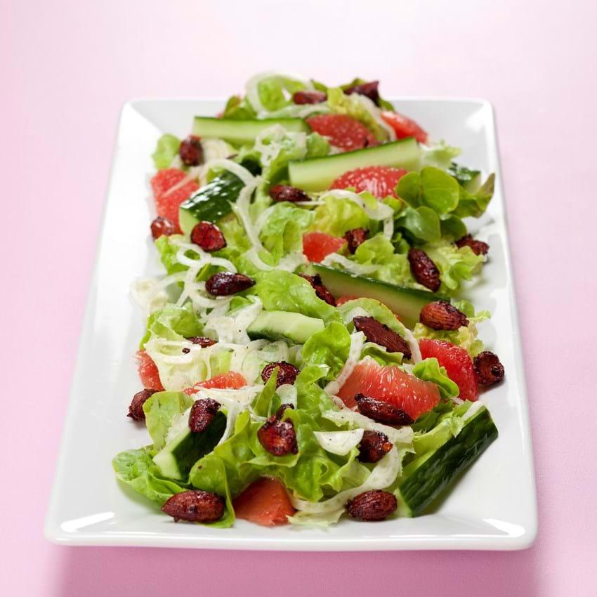 Salat Med Grapefrugt Og Fennikel Se Opskriften Her