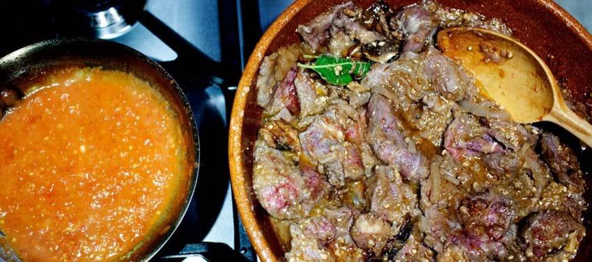 Fricando - Kalvekød med svampe