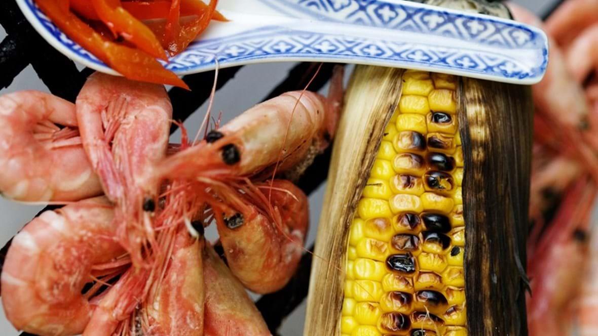 Gourmetrejer - og majskolber på grill