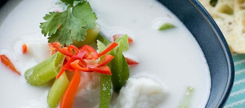 Orientalsk fiskesuppe