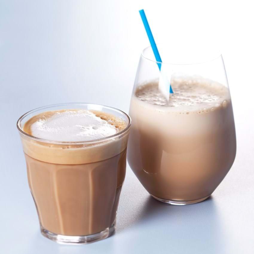 Kaffe latte/cappuccino - iskaffe