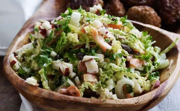 Eksotisk coleslaw