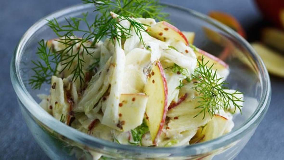 Fennikel-æblesalat