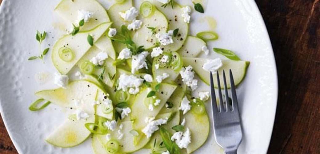 Pæresalat med timian og feta