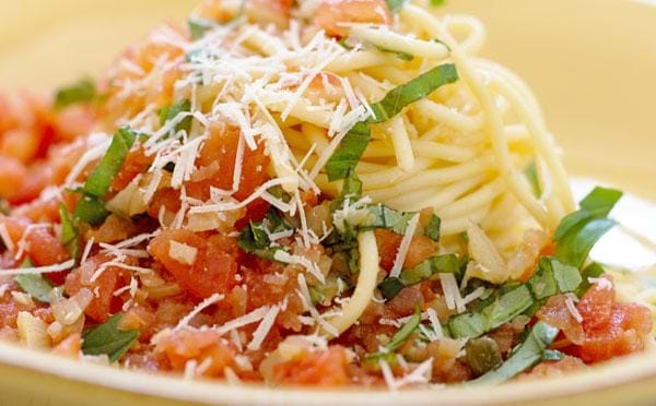 Rå tomatsauce