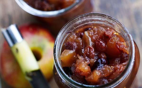 Æble-pærechutney