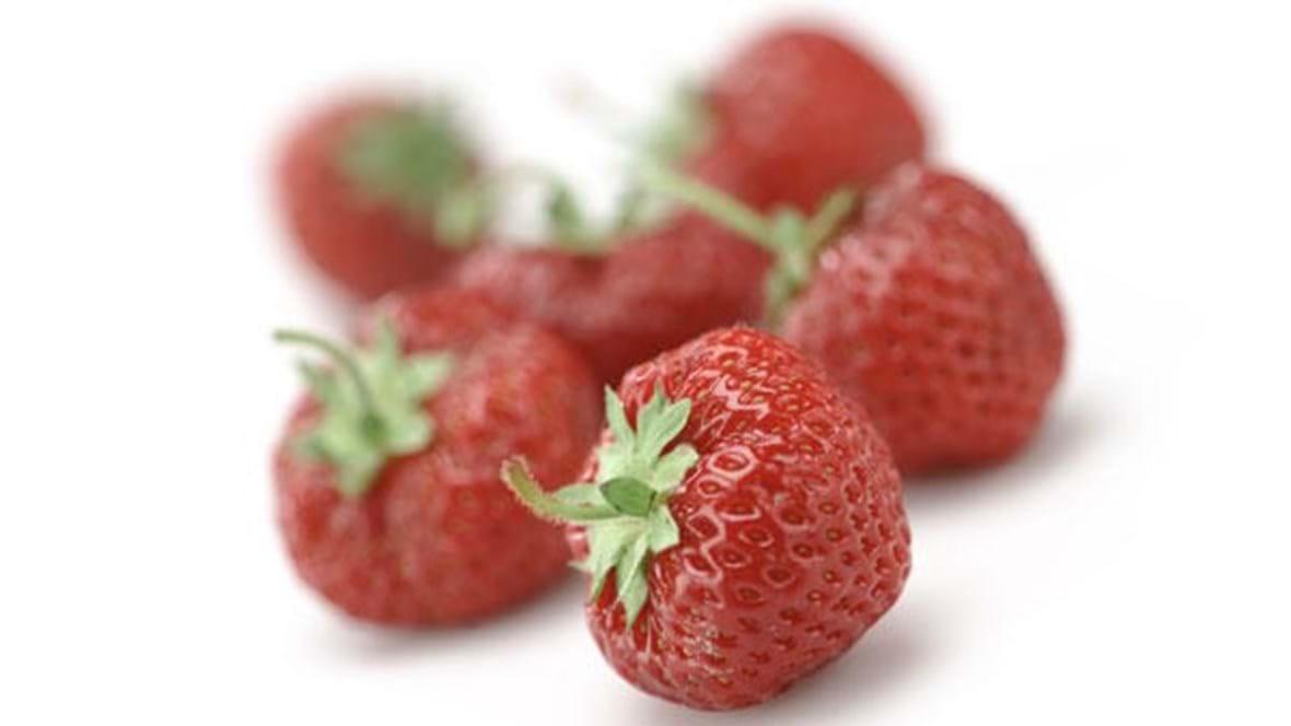 Jordbærchips