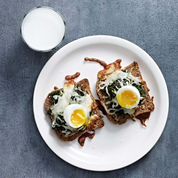 Morgentoast med æg