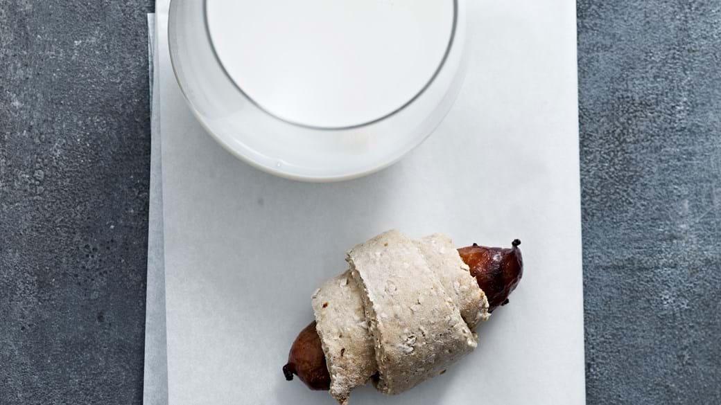 Pølsehorn med fuldkorn