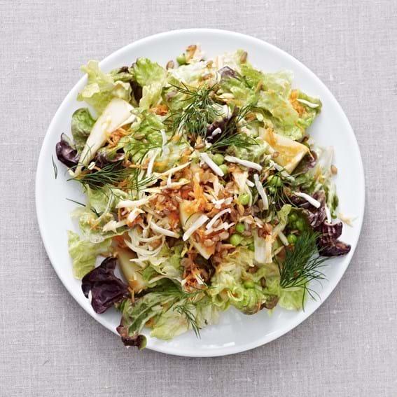 Salat af rugkerner