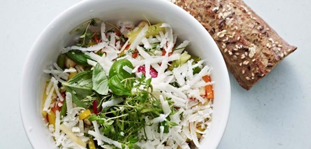 Hurtig orientalsk grøntsagsret