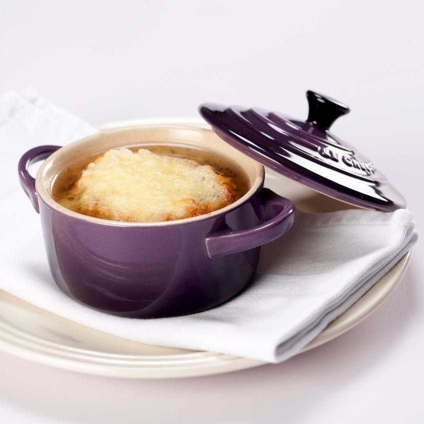 Løgsuppe med ostebrød