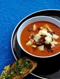 Krydret tomatsuppe
