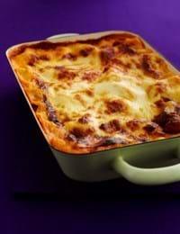 Lasagne med rodfrugter