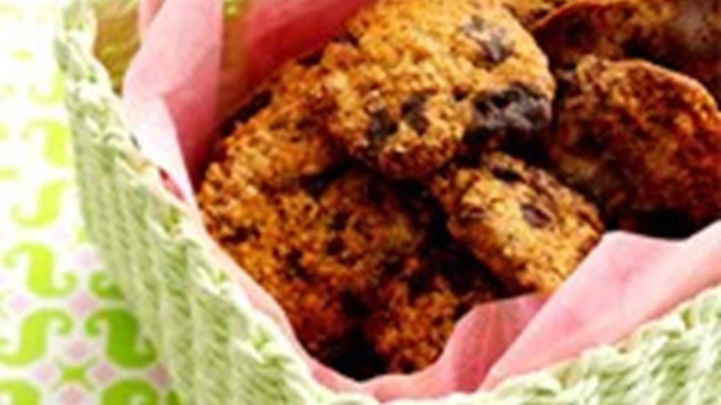 Cookies med havregryn og chokolade