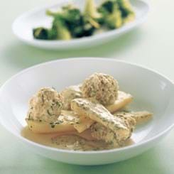 Dild-kødboller med persillerødder