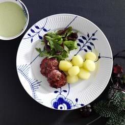 Krebinetter Lindstrøm med kold bearnaise sauce