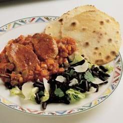 Mexicansk skinkemignon i chilipebersauce