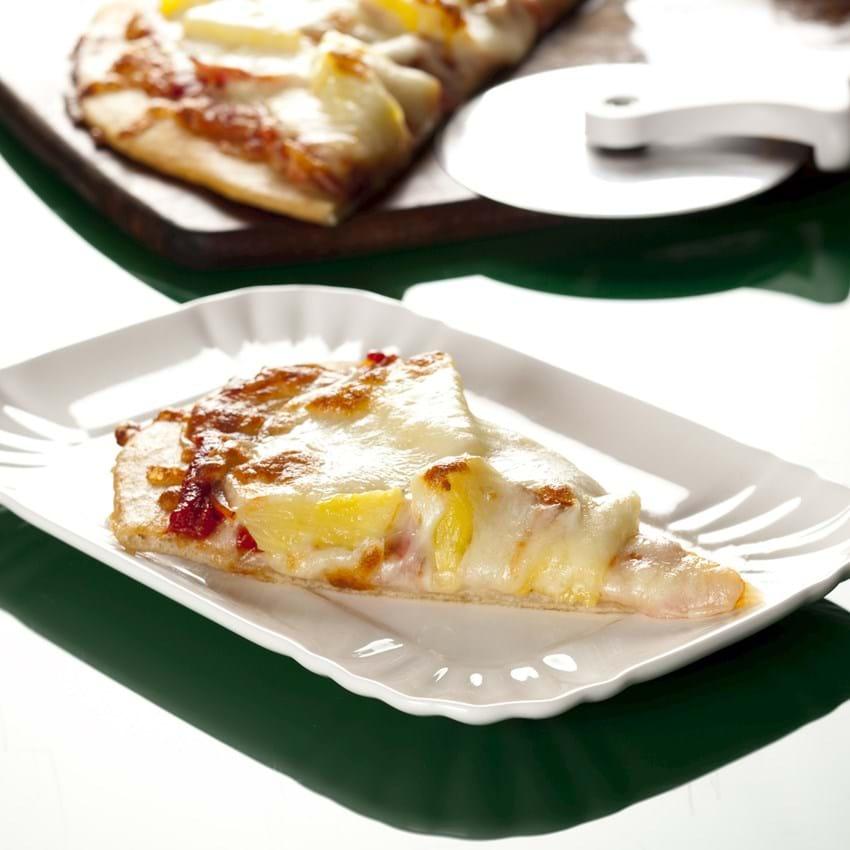 Pizza med ananas