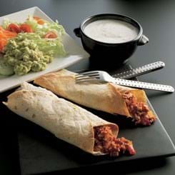 Skinke burritos