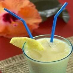Frugtsmoothie - Blue Hawaii