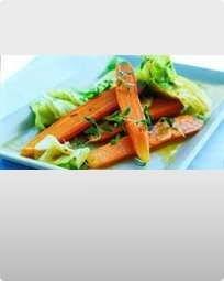Råstegte gulerødder