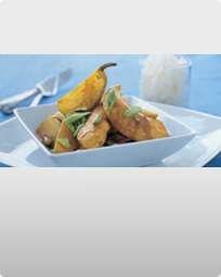 Kylling med mandler og citron