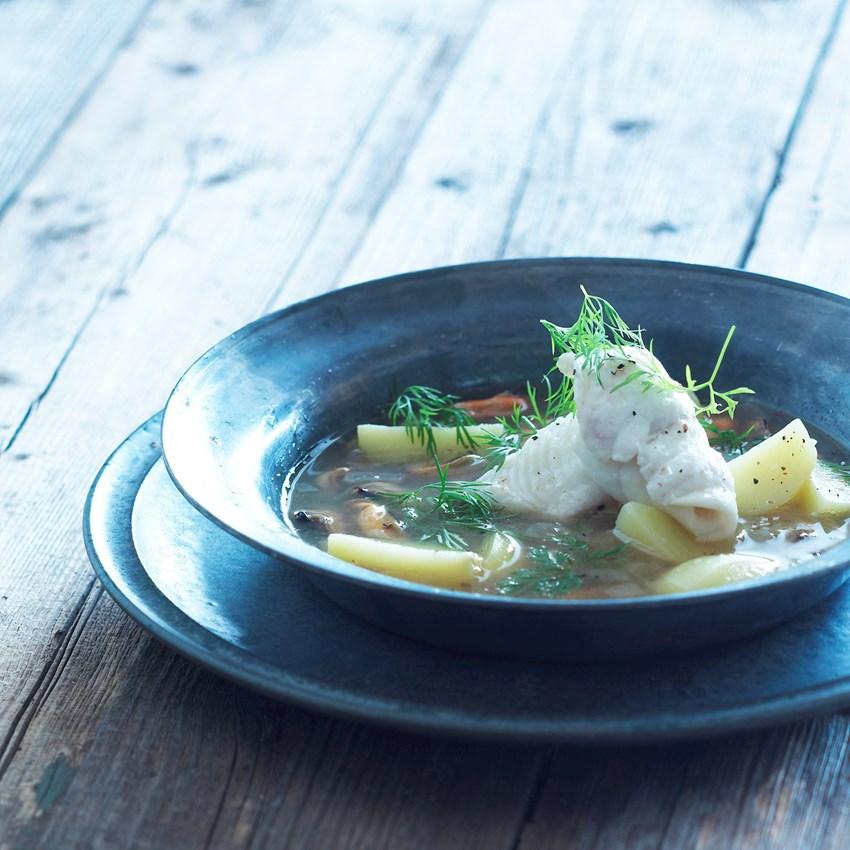 Nordisk fiske- og muslingesuppe