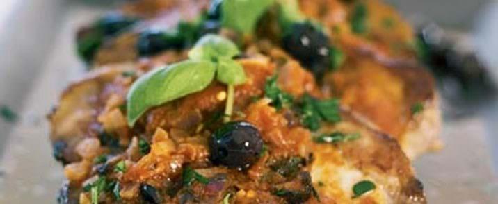 Provencekoteletter i fad