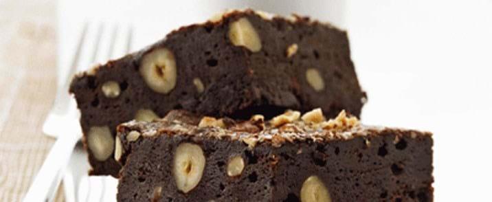 Brownies med pistacienødder