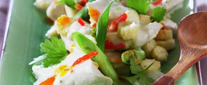 Smagfuld thaiinspireret kyllingeret