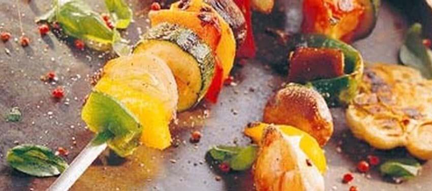 Det Ultimative Vegetar-grillspyd