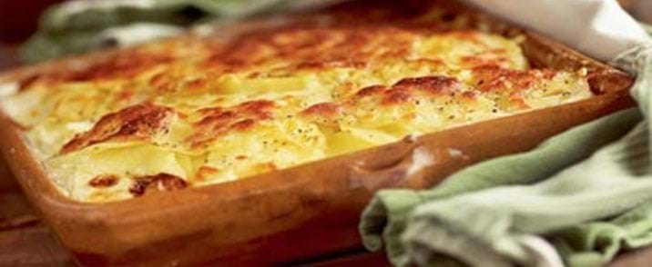 Fransk Kartoffelgratin