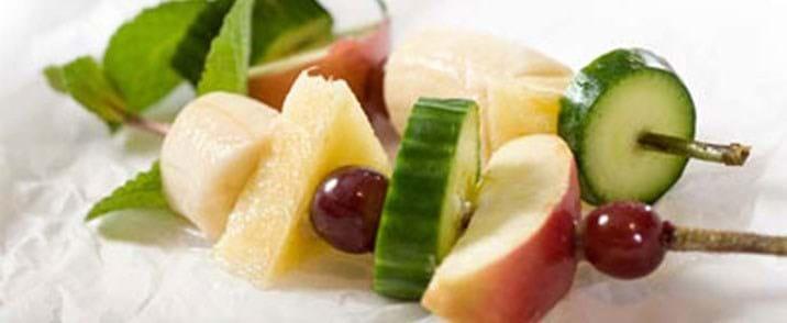 Frugt og grøntspyd