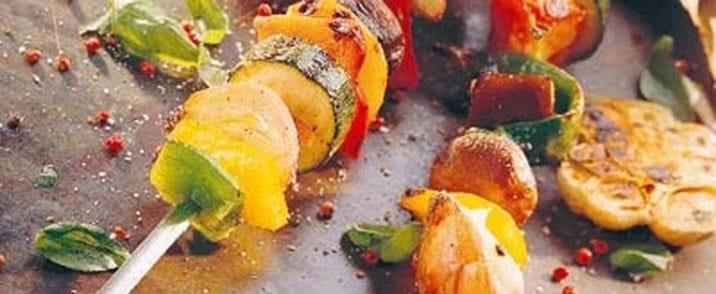 Grillede majskolber og hvidløg